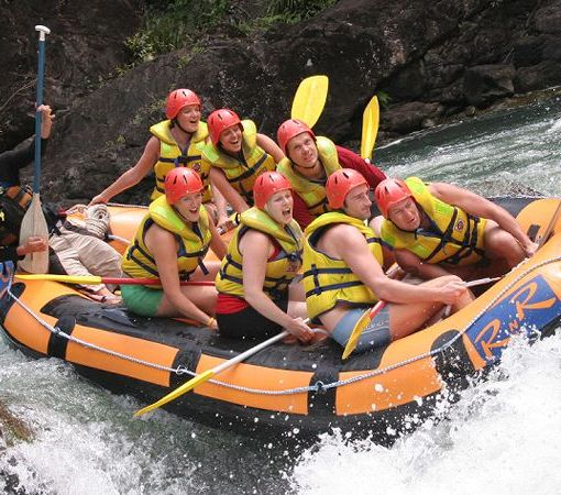 White Water Rafting on the Baron River